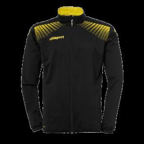 GOAL CHAQUETA CLASSIC negro/lima amarillo UHLSPORT