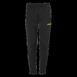 SCORE TRACK PANTS negro/amarillo fluor UHLSPORT
