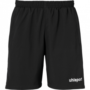 ESSENTIAL WOVEN SHORTS black UHLSPORT
