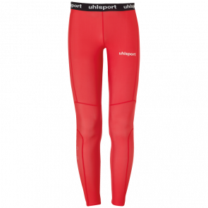 DISTINCTION PRO LONG TIGHTS red UHLSPORT