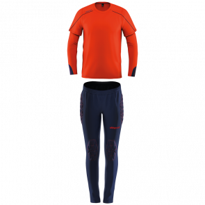 STREAM 22 TORWART-SET JUNIOR red UHLSPORT