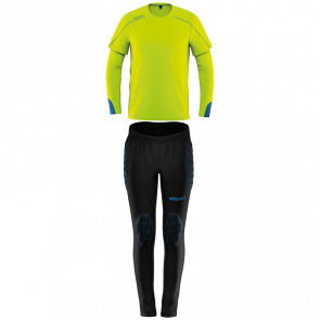 STREAM 22 TORWART-SET JUNIOR yellow UHLSPORT