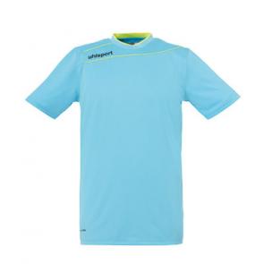 STREAM 3.0 Camiseta de Portero MC azul hielo/amarillo fluor UHLSPORT