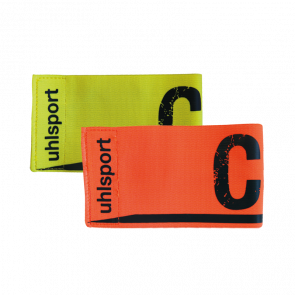 CAPTAINS ARMBAND (fl.yellow, shockred) surtido de color UHLSPORT