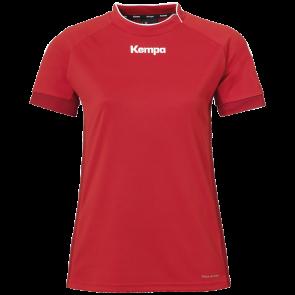 PRIME SHIRT WOMEN rojo/rojo chili KEMPA