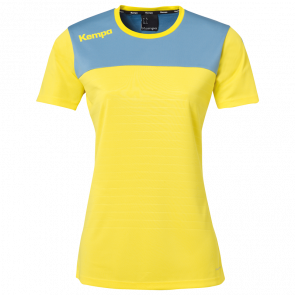 EMOTION 2.0 SHIRT WOMEN yellow KEMPA