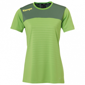 EMOTION 2.0 SHIRT WOMEN green KEMPA