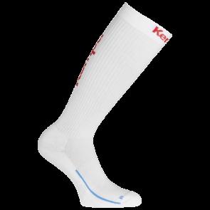 LONG SOCKS blanco/rojo KEMPA
