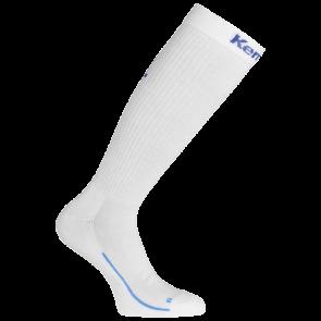 LONG SOCKS blanco/azul royal KEMPA
