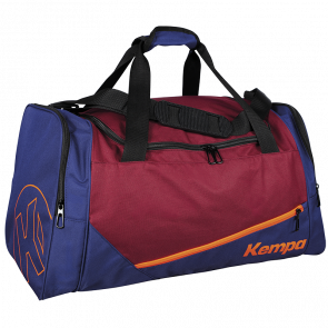 SPORTS BAG rojo oscuro/azul deep KEMPA