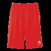 CENTER BASIC II Shorts without slip rojo UHLSPORT