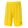 CENTER BASIC II Shorts without slip amarillo maiz UHLSPORT