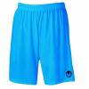 CENTER BASIC II Shorts without slip cyan UHLSPORT