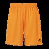 CENTER BASIC II SHORTS WITHOUT SLIP naranja fluor UHLSPORT