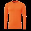uhlsport Baselayer shirt LS naranja pálido UHLSPORT