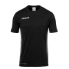 SCORE KIT SS negro/blanco UHLSPORT