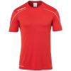 STREAM 22 SHIRT SHORTSLEEVED ROJO UHLSPORT