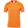 STREAM 22 SHIRT SHORTSLEEVED NARANJA UHLSPORT