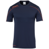 STREAM 22 SHIRT SHORTSLEEVED AZUL MARINO UHLSPORT