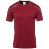 STREAM 22 SHIRT SHORTSLEEVED BURDEOS UHLSPORT