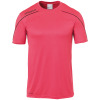 STREAM 22 SHIRT SHORTSLEEVED FUCSIA UHLSPORT