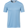STREAM 22 SHIRT SHORTSLEEVED CELESTE UHLSPORT