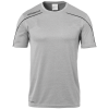 STREAM 22 SHIRT SHORTSLEEVED gris UHLSPORT