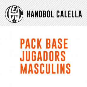 PACK BASE JUGADORES MASCULINOS HANDBOL CALELLA