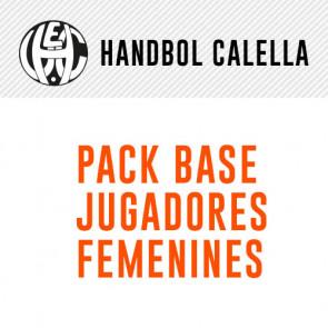 PACK BASE JUGADORAS FEMENINAS HANDBOL CALELLA
