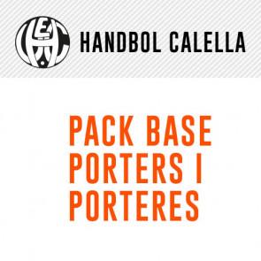 PACK BASE PORTER@S HANDBOL CALELLA