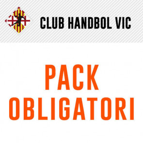 PACK OBLIGATORI CLUB HANDBOL VIC