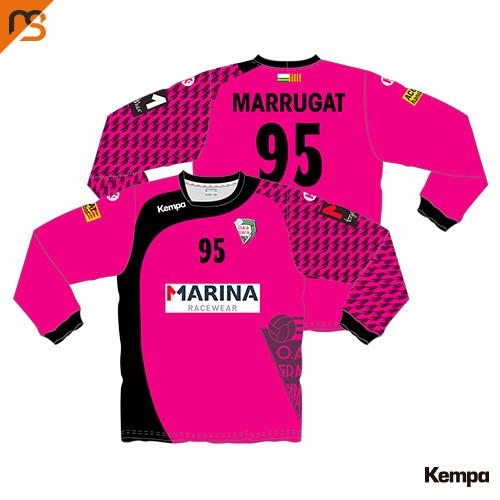 Camiseta ML. Sublimado Kempa, 1ª Equip. Porteras CLUB ESPORTIU OAR GRACIA SABAD, Mujer