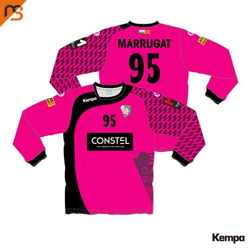 Camiseta ML. Sublimada Kempa, 1ª Equip. Porteros CLUB ESPORTIU OAR GRACIA SABAD, Hombre