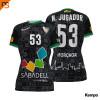 Camiseta MC. Sublimada Kempa, 2ª equip. negra CLUB ESPORTIU OAR GRACIA SABAD, Mujer