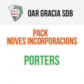 PACK COMPLET MASCULÍ NOVES INCORPORACIONS PORTERS OAR GRACIA