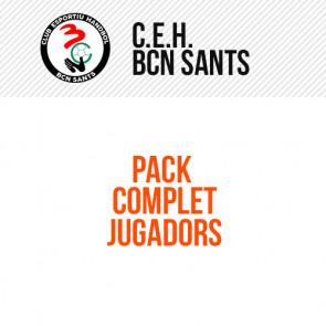 PACK DE JOC COMPLET MASCULI HANDBOL BCN SANTS