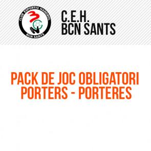 PACK DE JOC OBLIGATORI PORTERS/ES HANDBOL BCN SANTS