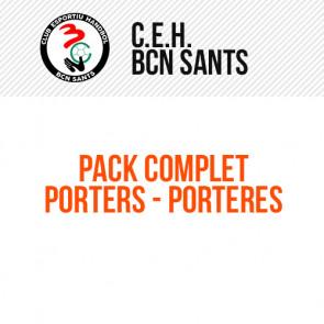 PACK DE JOC COMPLET PORTERS/ES HANDBOL BCN SANTS
