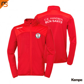 EMOTION 2.0 POLY JACKET rojo C.E. HANDBOL BCN SANTS